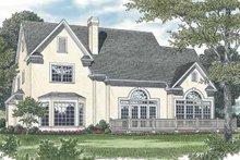 Traditional Exterior - Rear Elevation Plan #453-529
