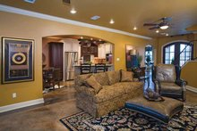 Home Plan - European Interior - Family Room Plan #17-3284
