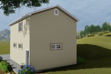 House Plan Design - Traditional Exterior - Rear Elevation Plan #1060-84
