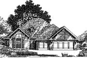 Colonial Style House Plan - 4 Beds 2.5 Baths 2370 Sq/Ft Plan #310-730 Exterior - Front Elevation