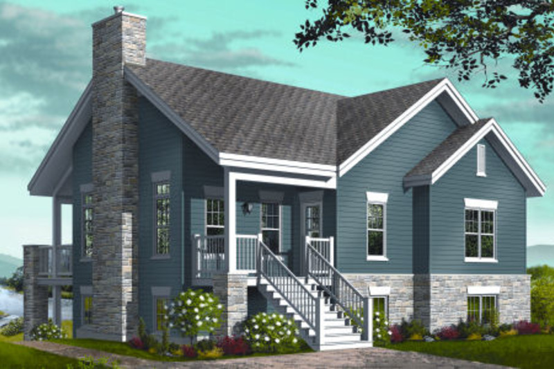 Traditional Exterior - Front Elevation Plan #23-2268 - Houseplans.com