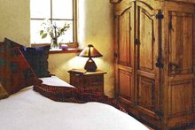 Architectural House Design - Traditional Interior - Master Bedroom Plan #1042-8