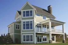 Craftsman Exterior - Rear Elevation Plan #928-75