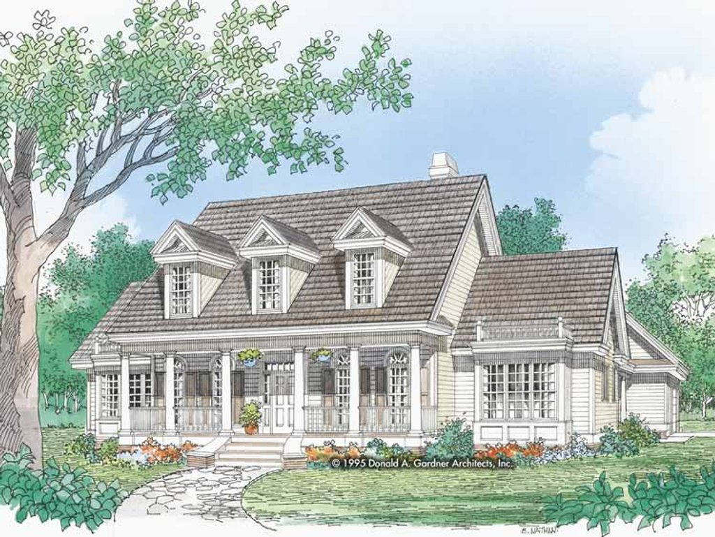 Country style house plan 4 beds 3 baths 2612 sq ft plan for Www eplans com