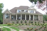 Traditional Style House Plan - 4 Beds 3.5 Baths 3771 Sq/Ft Plan #1054-24 Exterior - Rear Elevation
