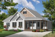 Ranch Exterior - Front Elevation Plan #23-2565