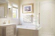 Mediterranean Style House Plan - 3 Beds 2 Baths 1555 Sq/Ft Plan #938-22 Interior - Master Bathroom
