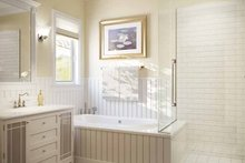 Mediterranean Interior - Master Bathroom Plan #938-22