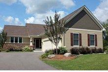 House Plan Design - Ranch Exterior - Front Elevation Plan #51-1048