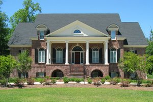 Dream House Plan - Classical Exterior - Front Elevation Plan #1054-81