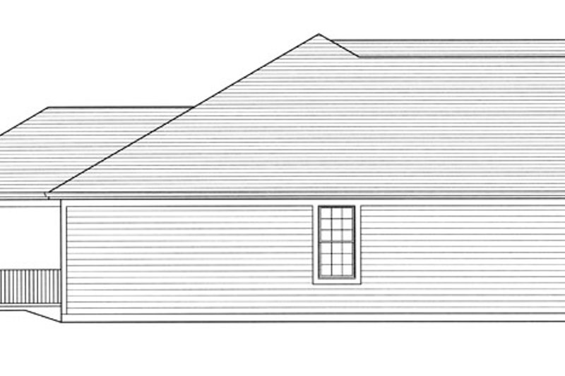 Traditional Exterior - Other Elevation Plan #46-839 - Houseplans.com