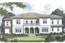 House Design - Mediterranean Exterior - Front Elevation Plan #453-598