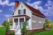 Farmhouse Style House Plan - 3 Beds 2 Baths 2034 Sq/Ft Plan #30-102