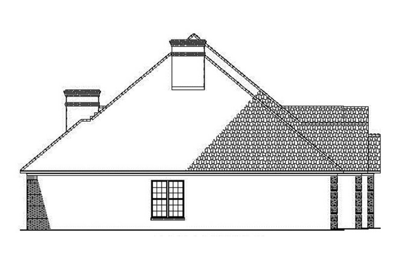 Country Exterior - Other Elevation Plan #17-2682 - Houseplans.com