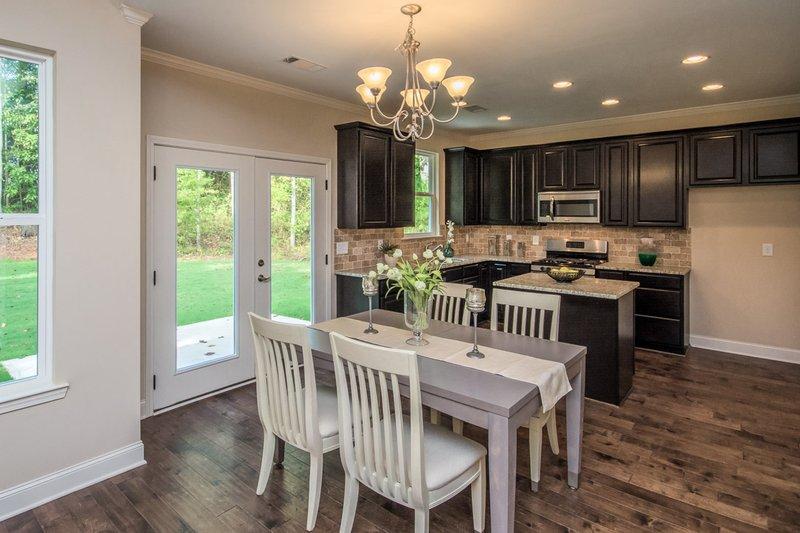 Country Interior - Dining Room Plan #20-2192 - Houseplans.com