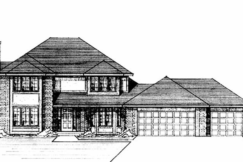 Traditional Exterior - Front Elevation Plan #51-816