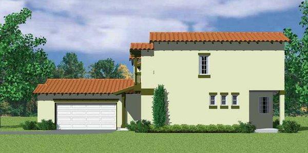 House Blueprint - Adobe / Southwestern Floor Plan - Other Floor Plan #72-1126