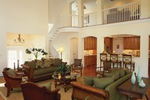 Country Interior - Family Room Plan #930-111