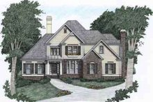 Traditional Exterior - Front Elevation Plan #129-102