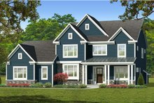 Home Plan - Farmhouse Exterior - Front Elevation Plan #1010-227