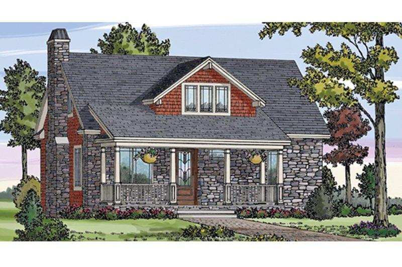 House Plan Design - Craftsman Exterior - Front Elevation Plan #314-276