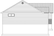 House Plan Design - Ranch Exterior - Other Elevation Plan #1060-36