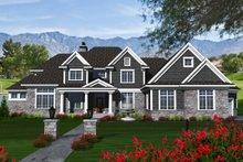 Dream House Plan - Traditional Exterior - Front Elevation Plan #70-1147