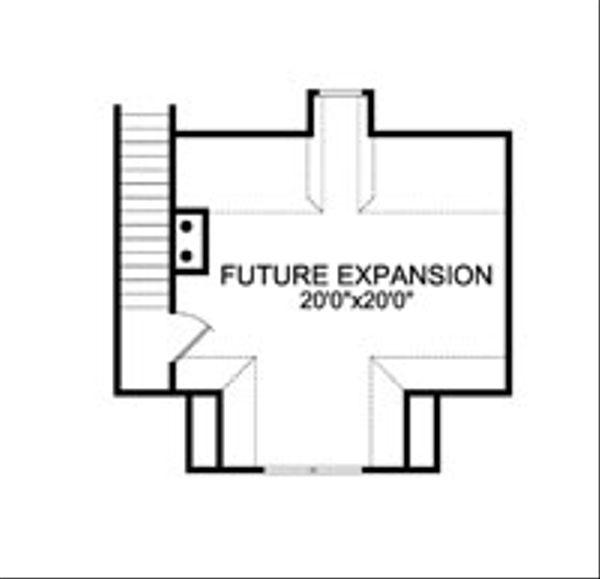 Craftsman Floor Plan - Other Floor Plan #456-28