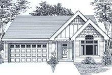 Farmhouse Exterior - Front Elevation Plan #53-137