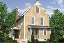 Farmhouse Exterior - Rear Elevation Plan #48-964