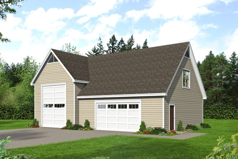 Country Exterior - Front Elevation Plan #932-267