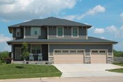 Craftsman Style House Plan - 4 Beds 2.5 Baths 2309 Sq/Ft Plan #20-2289 Exterior - Front Elevation