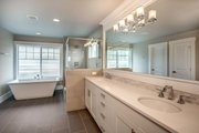 Traditional Style House Plan - 6 Beds 4 Baths 3620 Sq/Ft Plan #1066-70 Interior - Master Bathroom