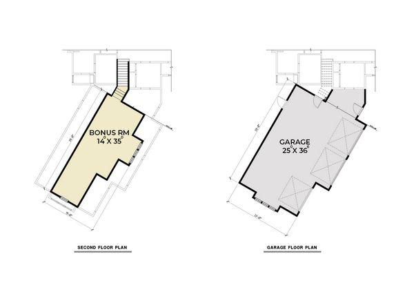 House Plan Design - Craftsman Floor Plan - Upper Floor Plan #1070-68