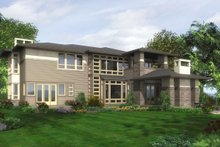 Modern Exterior - Other Elevation Plan #132-221