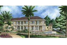 Architectural House Design - Southern Exterior - Front Elevation Plan #1017-60