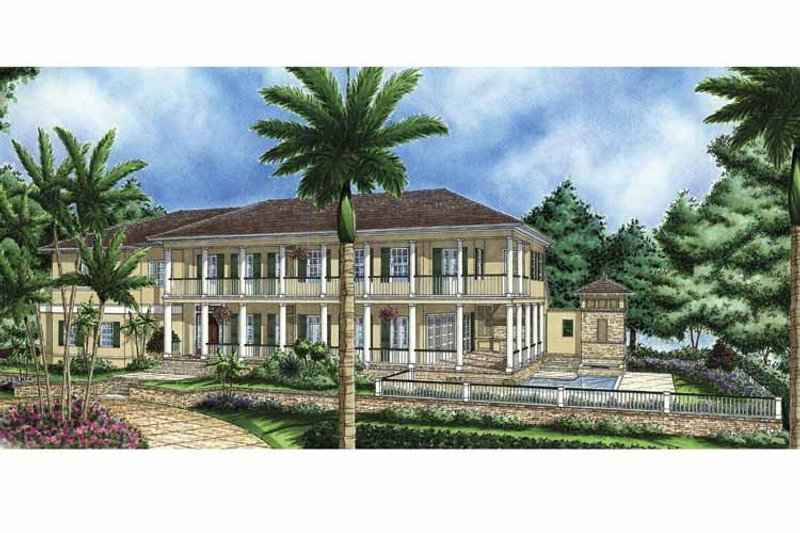 Southern Exterior - Front Elevation Plan #1017-60 - Houseplans.com