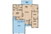 Ranch Style House Plan - 3 Beds 2 Baths 1786 Sq/Ft Plan #923-92 Floor Plan - Main Floor Plan