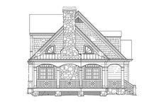 House Plan Design - Country Exterior - Other Elevation Plan #429-430