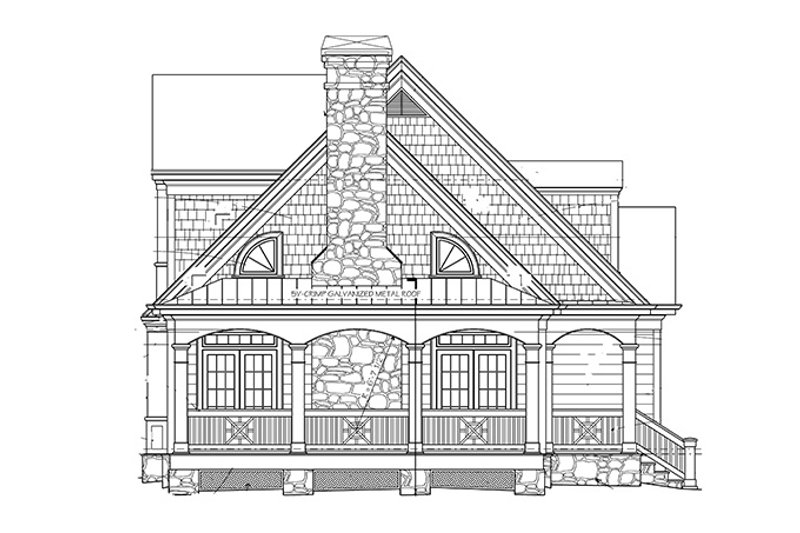 Country Exterior - Other Elevation Plan #429-430 - Houseplans.com