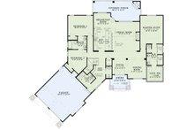 Craftsman Floor Plan - Main Floor Plan Plan #17-2569