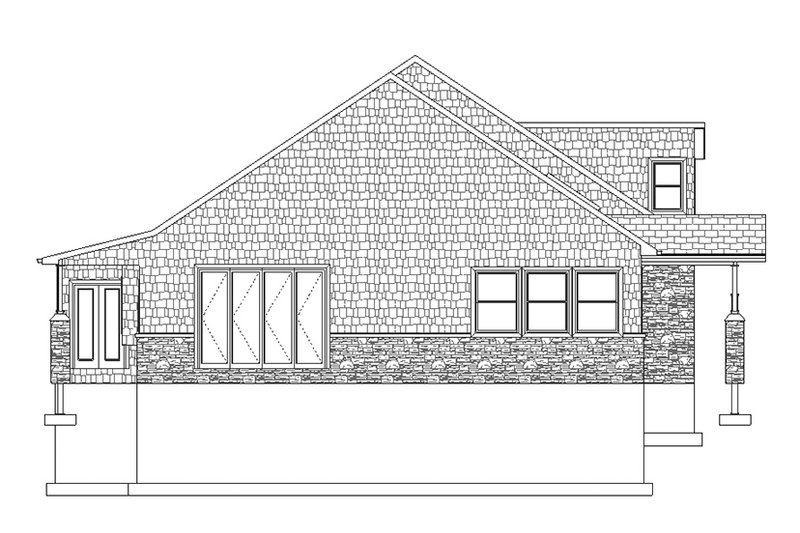 Ranch Exterior - Other Elevation Plan #1060-6 - Houseplans.com