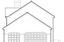 Colonial Exterior - Other Elevation Plan #1053-71