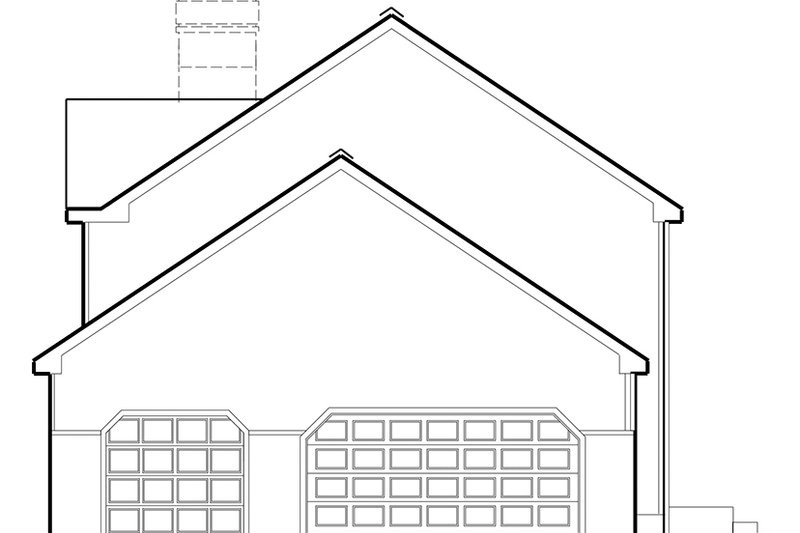 Colonial Exterior - Other Elevation Plan #1053-71 - Houseplans.com