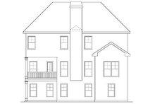 Dream House Plan - Craftsman Exterior - Rear Elevation Plan #419-231