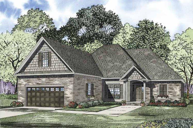 House Plan Design - Ranch Exterior - Front Elevation Plan #17-3324