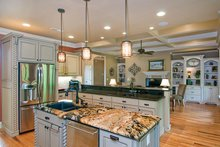 Dream House Plan - European Interior - Kitchen Plan #929-914