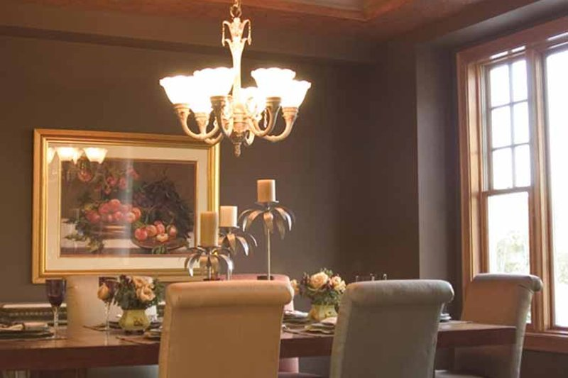 Country Interior - Dining Room Plan #51-1121 - Houseplans.com