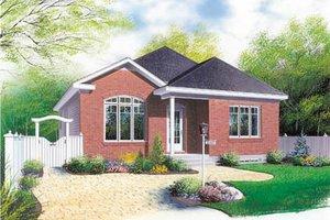 Modern Exterior - Front Elevation Plan #23-176