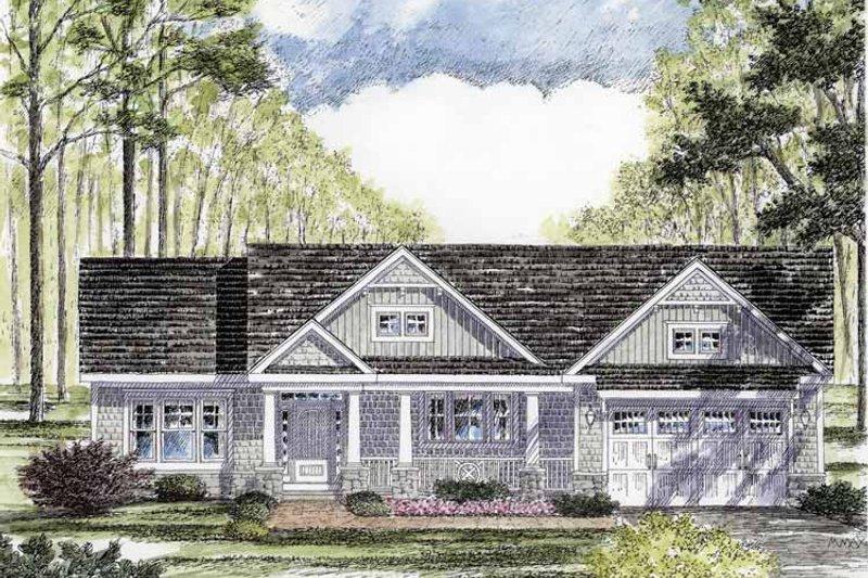 House Plan Design - Craftsman Exterior - Front Elevation Plan #316-260